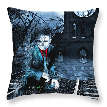 Promises Throw Pillow by Svetlana Sewell