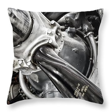 Throw Pillow featuring the photograph Prop by Bryan Keil
