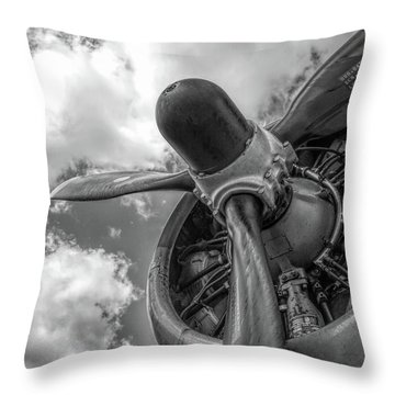 Prop Engine Throw Pillow