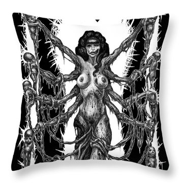 Propagate To Eradicate Throw Pillow by Tony Koehl