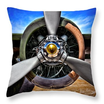 Propeller Art   Throw Pillow