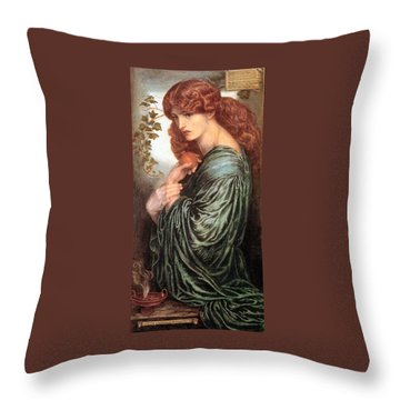 Proserpine 1881 Throw Pillow