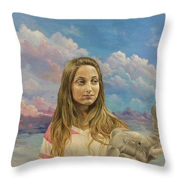 Prosperata Throw Pillow
