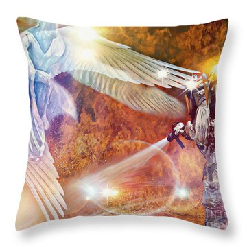Protect Our Firefighters Throw Pillow