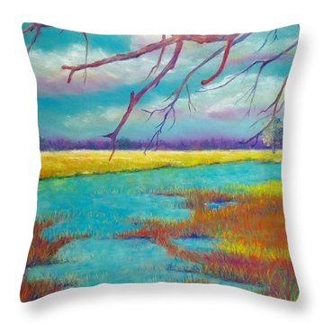 Protect The Wetlands Throw Pillow