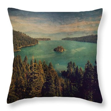 Protection Throw Pillow by Laurie Search