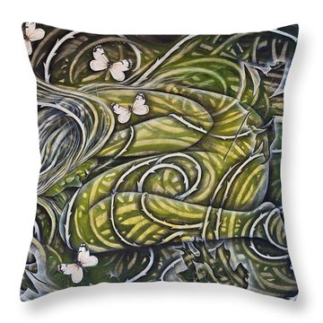 Protection Throw Pillow by Sheri Howe