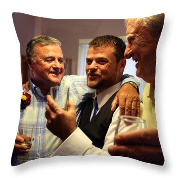 Proud Dad Throw Pillow