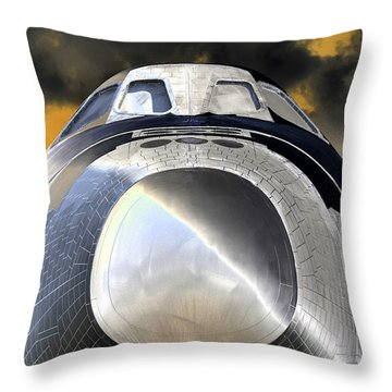 Proud Throw Pillow by David Lee Thompson