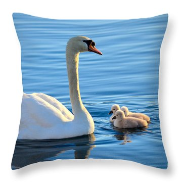 Proud Mother Throw Pillow