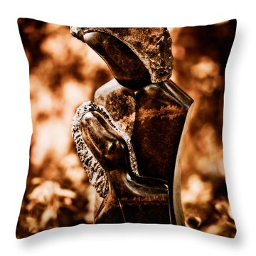 Proud Of My Child Throw Pillow by Venetta Archer