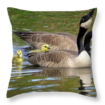 Proud Pappi Throw Pillow
