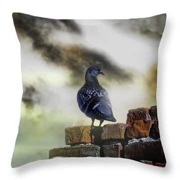 Proud To Be A Pigeon Throw Pillow