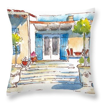 Provencal Dreams Throw Pillow