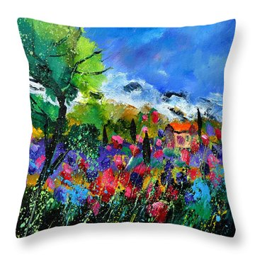 Provence 450170 Throw Pillow by Pol Ledent