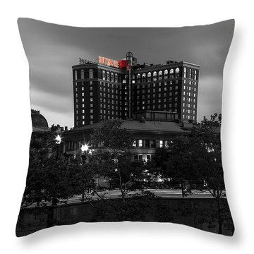 Providence Biltmore Throw Pillow