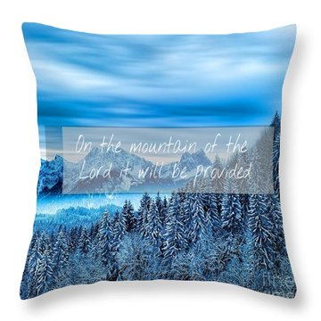 Provision Throw Pillow