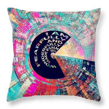 Psalm 139 Throw Pillow