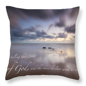 Psalm 19 1 Throw Pillow