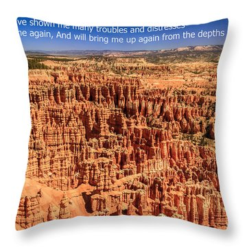 Psalm 71 Throw Pillow