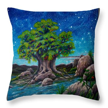 Psalm One Throw Pillow