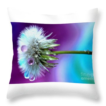 Psychedelic Daydream Throw Pillow