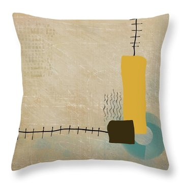 Throw Pillow featuring the mixed media Psychoactive Substance by Eduardo Tavares