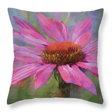 Psychodelia Throw Pillow