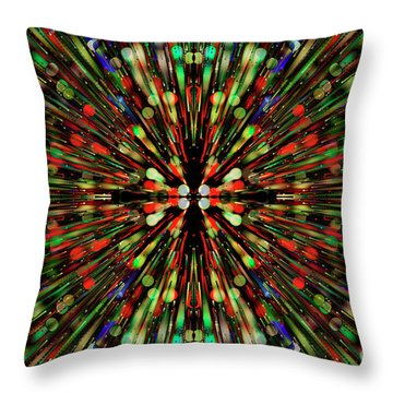 Throw Pillow featuring the photograph Psychotomimetic.. by Nina Stavlund