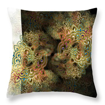 Psyfan Throw Pillow