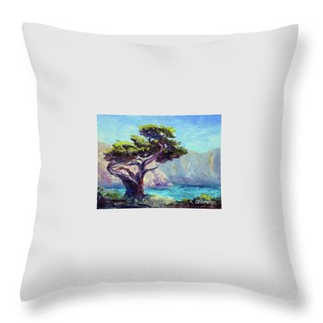 Pt. Lobos Beauty Throw Pillow