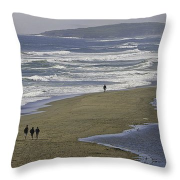 Pt. Reyes Throw Pillow