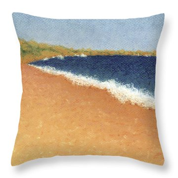 Pt. Reyes Beach Throw Pillow