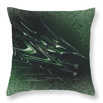 Pteranodon Longiceps Throw Pillow