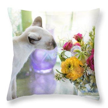 Pua Throw Pillow