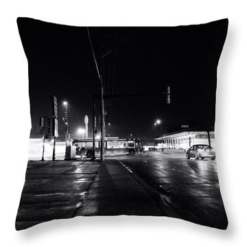 Public Transportation Throw Pillow by Jeanette O'Toole