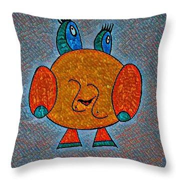 Puccy Throw Pillow
