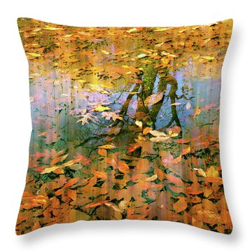 Puddle Play Throw Pillow