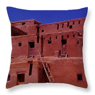 Pueblo Living Throw Pillow