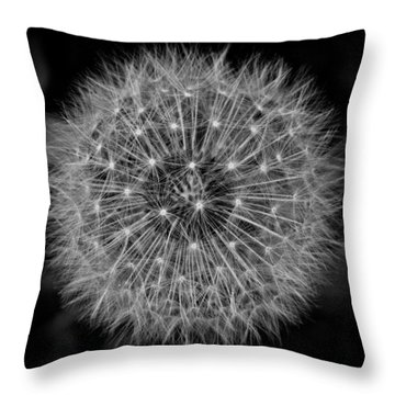 Puff Ball 9 Throw Pillow