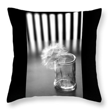 Throw Pillow featuring the photograph Puff Ball by Diane Alexander