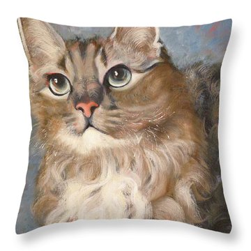 Puff  Ball Throw Pillow