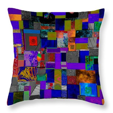 Pul K Throw Pillow
