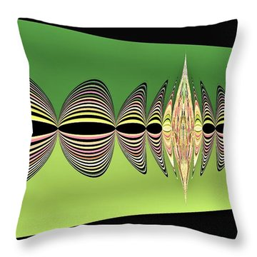 Pulse Two Throw Pillow