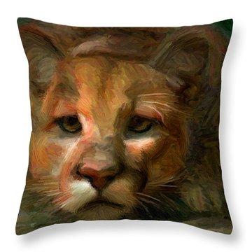 Puma 1 Throw Pillow