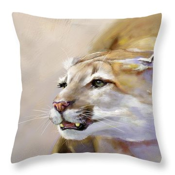 Puma Action Throw Pillow