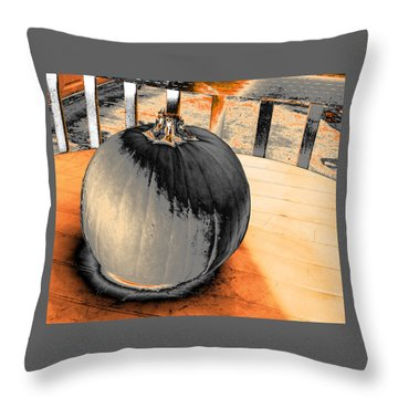 Pumpkin #2 Throw Pillow