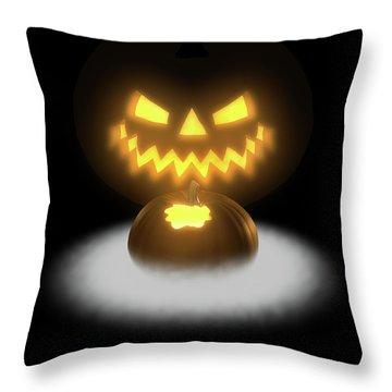 Pumpkin And Co II Throw Pillow