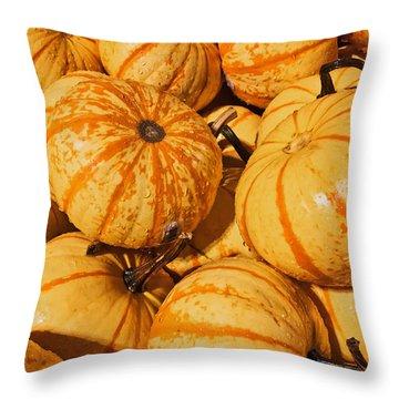 Pumpkin Harvest Throw Pillow