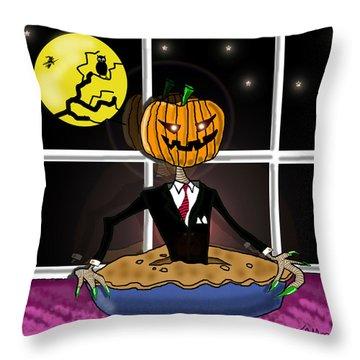 Pumpkin Pie Throw Pillow